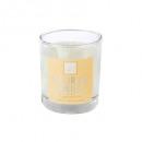 vela perfumada fl vanill elea 190g, transparente