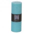 turq 6.7x19 vela redonda rústica, azul claro