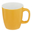 mug s colorama jaune 18cl, jaune