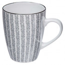 mug 30cl jap, 4- times assorted , multicolored