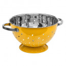 sieve stainless steel 25cm yellow rc, yellow