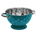 sieve stainless steel turq 25cm rc, blue