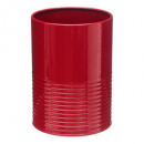pot ust / draining red metal rc, red
