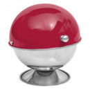 red rc stainless steel sugar bowl, red