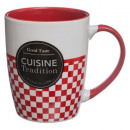 round mug 33cl cui trad, 2- times assorted , multi