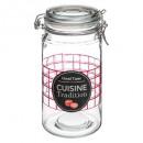 grossiste Maison et habitat: bocal verre 1l cui trad, transparent