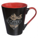 mug conique 30cl cote cafe, 2-fois assorti, couleu