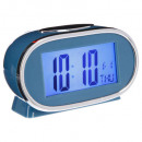 wholesale Consumer Electronics: alarm clock plast lcd 11x7.8, 4- times assorted ,