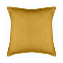coussin lilou ocre 45x45, jaune