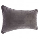 Pillow lilou gf 30x50, dark gray