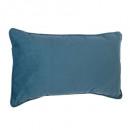 Kussen blauwe lilou 30x50, blauw
