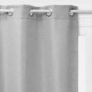 rideau occultant tresse gc 140x260, gris clair