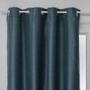 vorhang blackout braid cana 140x260, blaue ente