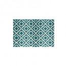 alfombra marvin azul 60x90, azul