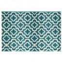 alfombra marvin azul 120x170, azul