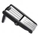 Großhandel Küchenhelfer: Mandoline 3 Klingen, schwarz