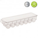 tray rangt fridge 14oeuf 37x11cm, transparent