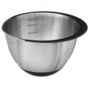mixer bowl with rubber lip 2.2l, black
