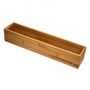 wholesale Business Equipment: bamboo organizer ts 8x38x7cm, colorless