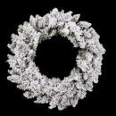 corona 60cm floreciente floq