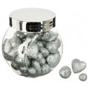 accessories jar mix glitter 3 plate ar, 3-