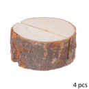 wholesale Table Linen:wood round log table x4
