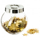 gold confetti confetti jar accessories, 5-times as