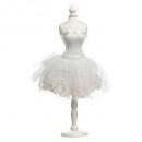 Großhandel Geschäftsausstattung: Dekoration Schaufensterpuppe Kleid h72cm