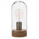 wholesale Drinking Glasses: dome lamp vr + liege h27, transparent