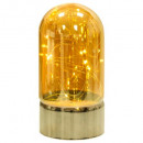 koepellamp vr amber10led h20, goud