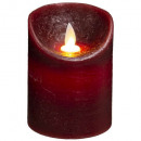 candle led poesie 150g, 3- times assorted colors
