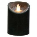 led gyertya fekete 370g, fekete