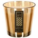 candela profumata dorata marrone 500g, oro
