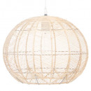suspension rotin d38h32, beige