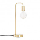 gold metal lamp h46, gold