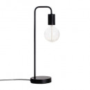 black metal lamp h46, black