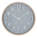 clock beautiful day d33cm, gray