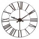 Vintage metal d110 clock, brown