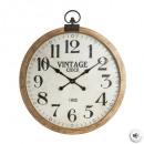 reloj de madera gouss d74, marrón