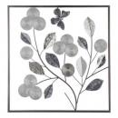 wholesale Gifts & Stationery: silver metal wall deco 50x50, silver