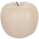 apple ceram effect wood d22x17, medium beige