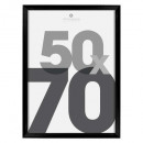 marco de fotos de plástico negro 50x70, negro