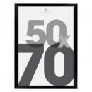 black plastic photo frame 50x70, black