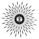 pendolo alu str piatti nero d60, nero