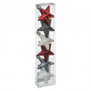 christmas decoration star plast x6 b