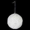Kerstbal kralen kralen glitter 8cm 3asst, 3-f