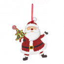 Christmas decoration Santa Claus / Christmas ball
