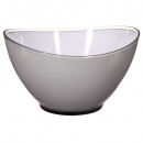 bowl wave gray 23cm, rojo