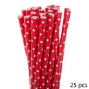 straw paper x25 peas, 4- times assorted , multicol