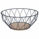 gray diamond basket 28cm
